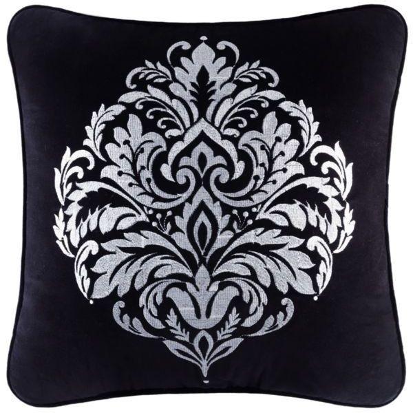 J Queen New York Black Cambridge Square 40In Decorative Pillow 40 Best Macy's Decorative Throw Pillows