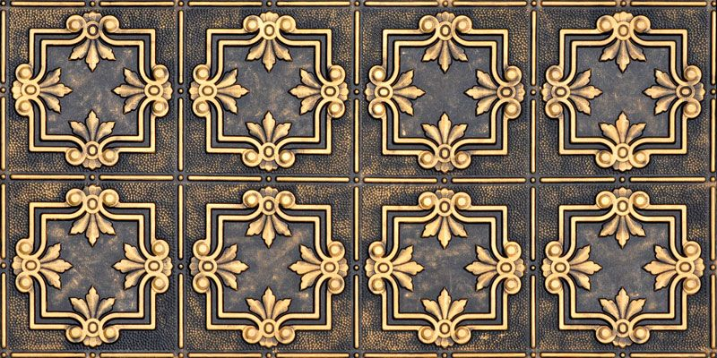 Faux Tin Ceiling Panel - 24x48 - #DCT 0321