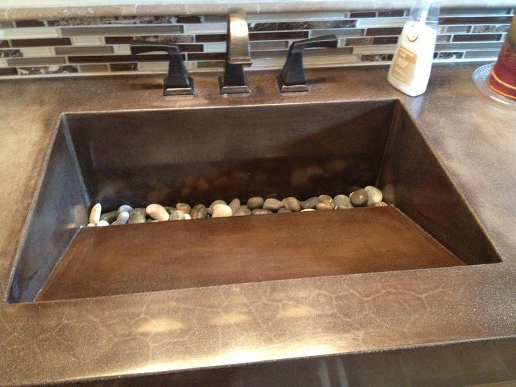 Resultado de imagen para fregaderos de hormigon lavabos for Cera de hormigon para azulejos de bano