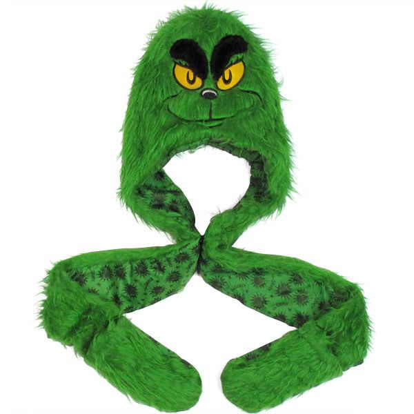 Dr. Seuss Grinch Furry Snood Beanie