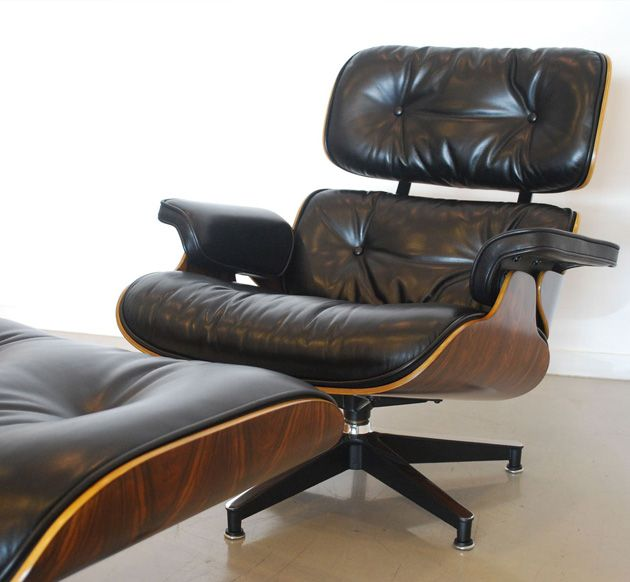 Classic eames lounge chair deco pinterest lounge chairs mid century modern and mid century - Deco lounge eetkamer modern ...