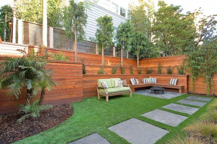 Fotos de jardines minimalistas que te encantarn Rooftop garden