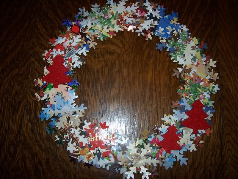 Crafts Made With Recycled Christmas Cards | This Is Made With Old Christmas  Cards And A