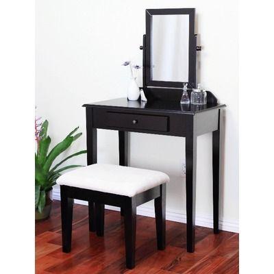 Mega Home Contemporary Vanity Set   Wayfair