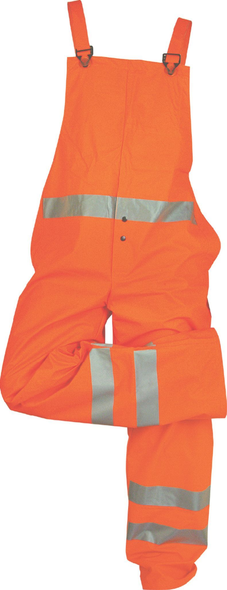Majestic 75429FO Hi Vis Orange Flexothane Bib Trousers ANSI Class 3