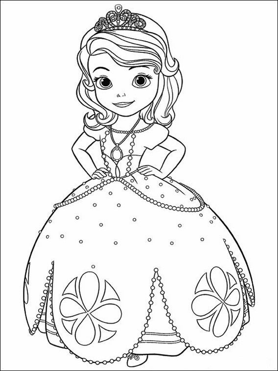 Sofia Die Erste 1 Ausmalbilder Fur Kinder Malvorlagen Zum Ausdrucken Und Ausmalen Ausmalbilder Ausmalbilder Prinzessin Ausmalbilder Kinder