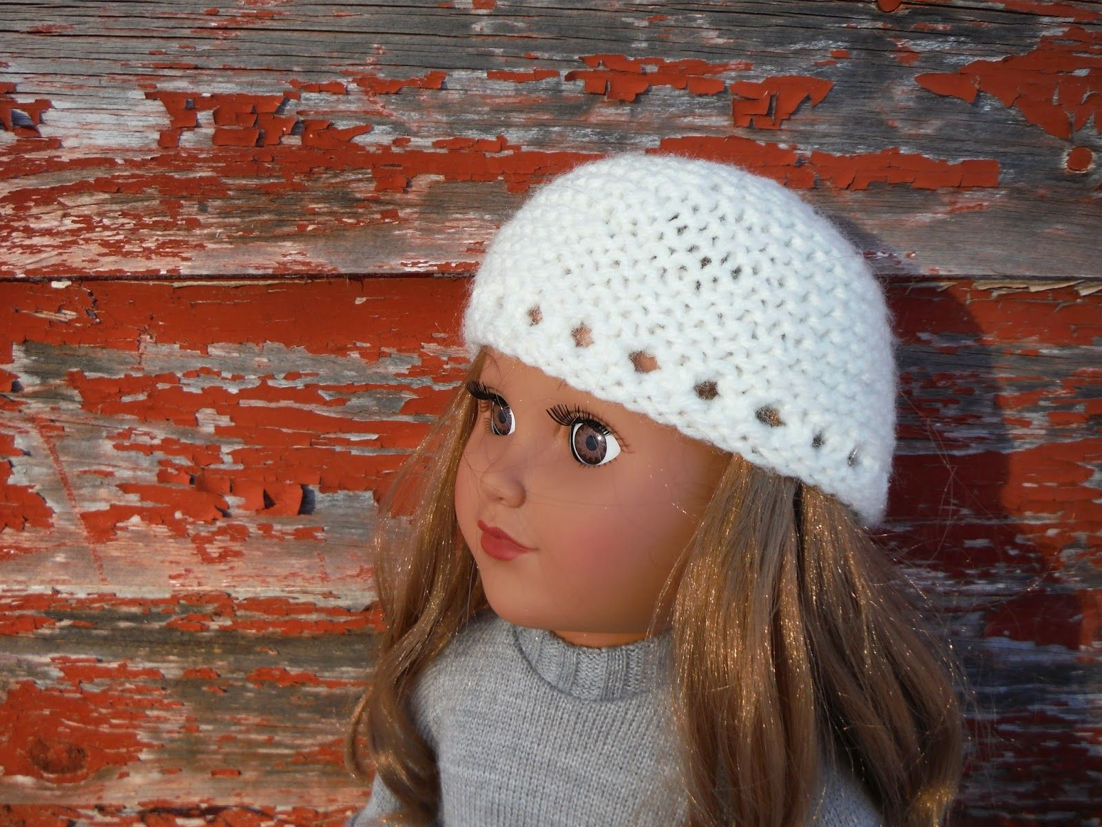 Free knitting pattern garter stitch hat for 18 american girl free knitting pattern garter stitch hat for 18 american girl doll bankloansurffo Gallery