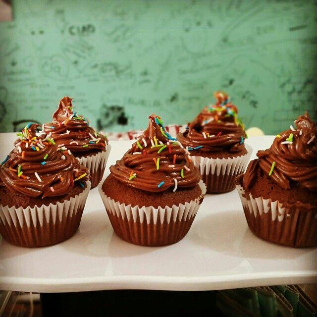 Nutella Cupcake At Vee American Coffee Shop Nutella Cupcakes Cooking Classy Food