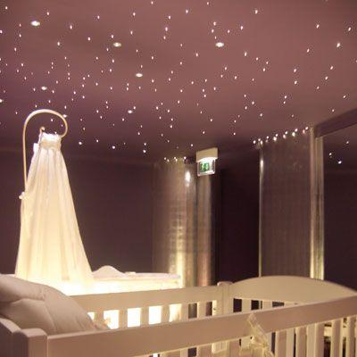 Faisceaux De 240 Fibres Optiques Pour Ciel Etoile Plafond Etoile Chambre Bebe Bois Deco Chambre