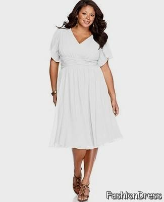 Nice Plus Size White Summer Dress With Sleeves 2017 2018 Cars 2017