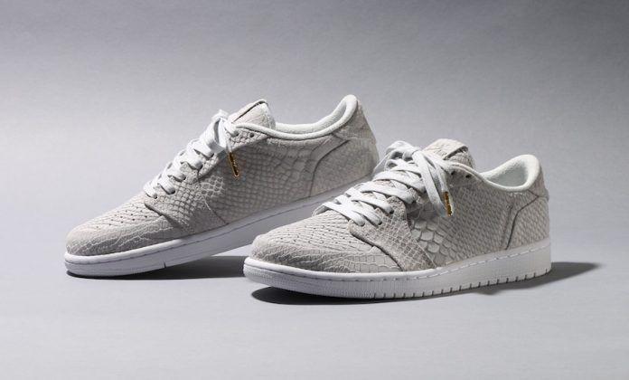 b45688ae18a841 Air Jordan 1 Low Swooshless Off-White Python - Sneaker Bar Detroit ...