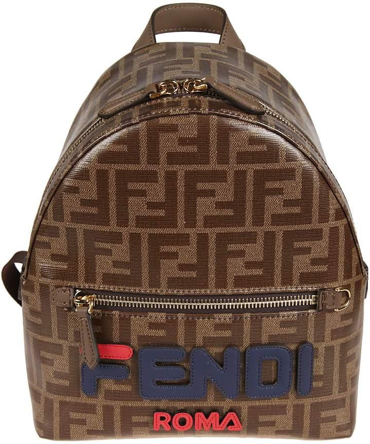 71825491d0ad Fendi Mini Ff Print Backpack in 2019   FENDI HANDBAGS   Fendi ...