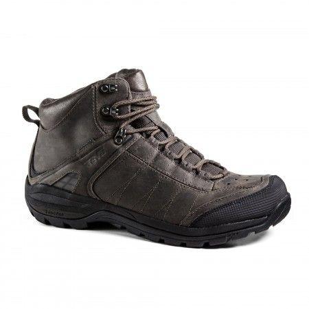 Men's Hiking Boots Shoes/Teva Kimtah WP Leather Turkish Coffee