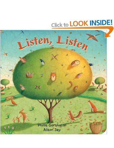 Listen, Listen: Amazon co uk: Phillis Gershator, Alison Jay: Books