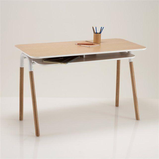 Bureau Bois Design Contemporain