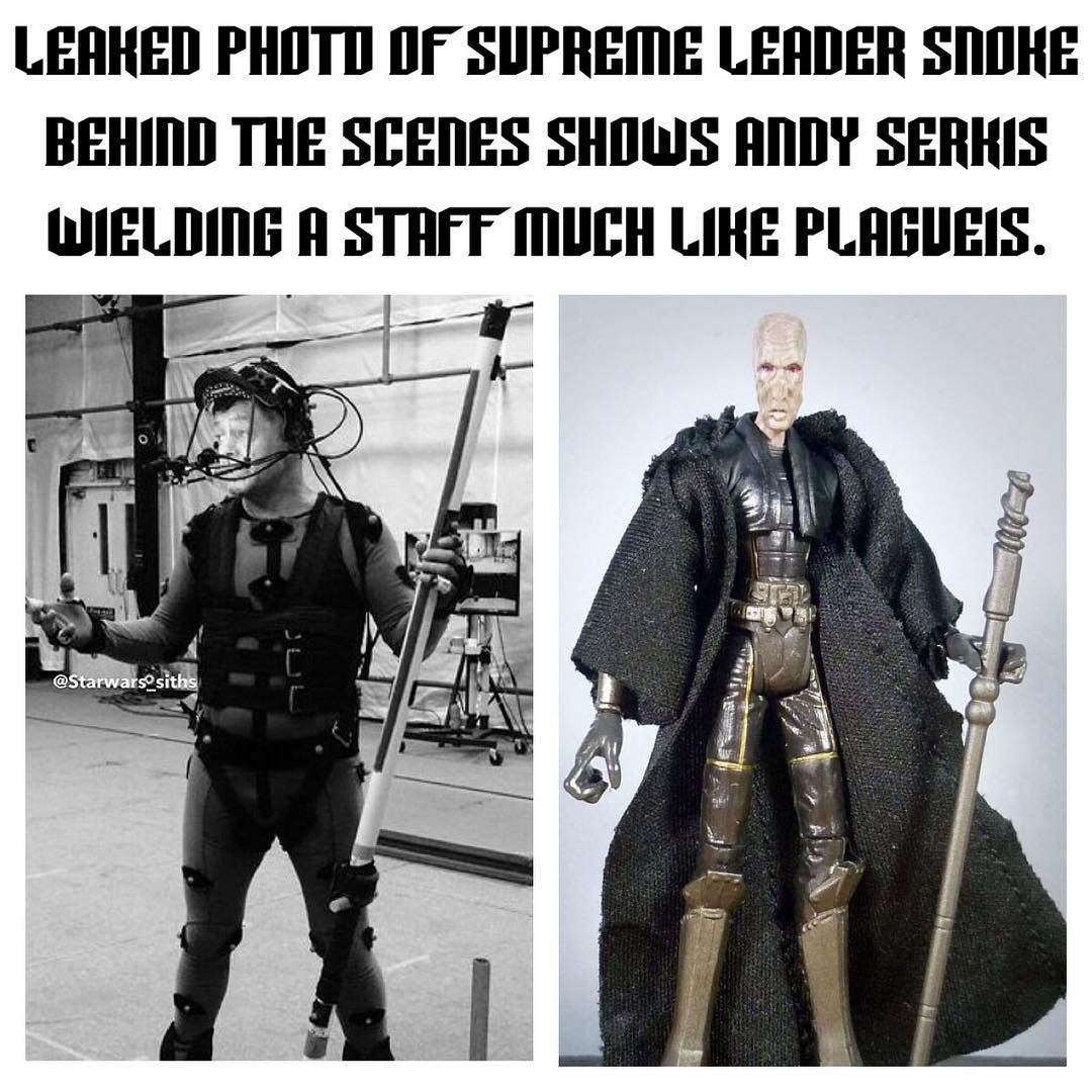 "Star Wars VII™ on Instagram: ""A leaked photo of Supreme ..."