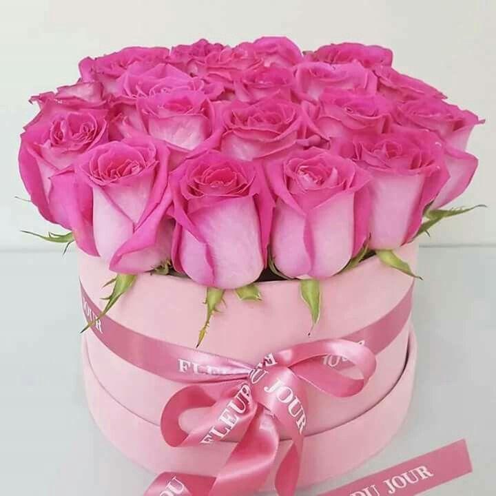 С днем рождения цветы картинки красивые в коробке, днем рождения