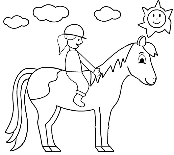 Ausmalbilder Gratis Pferde Ausmalbilder Gratis Pferde
