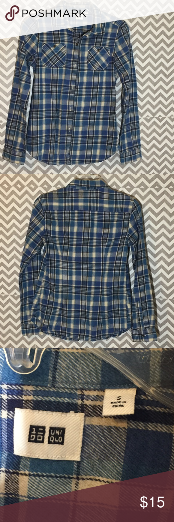 Uniqlo flannel jacket  Uniqlo Plaid Button Down Shirt  My Posh Picks  Pinterest  Uniqlo