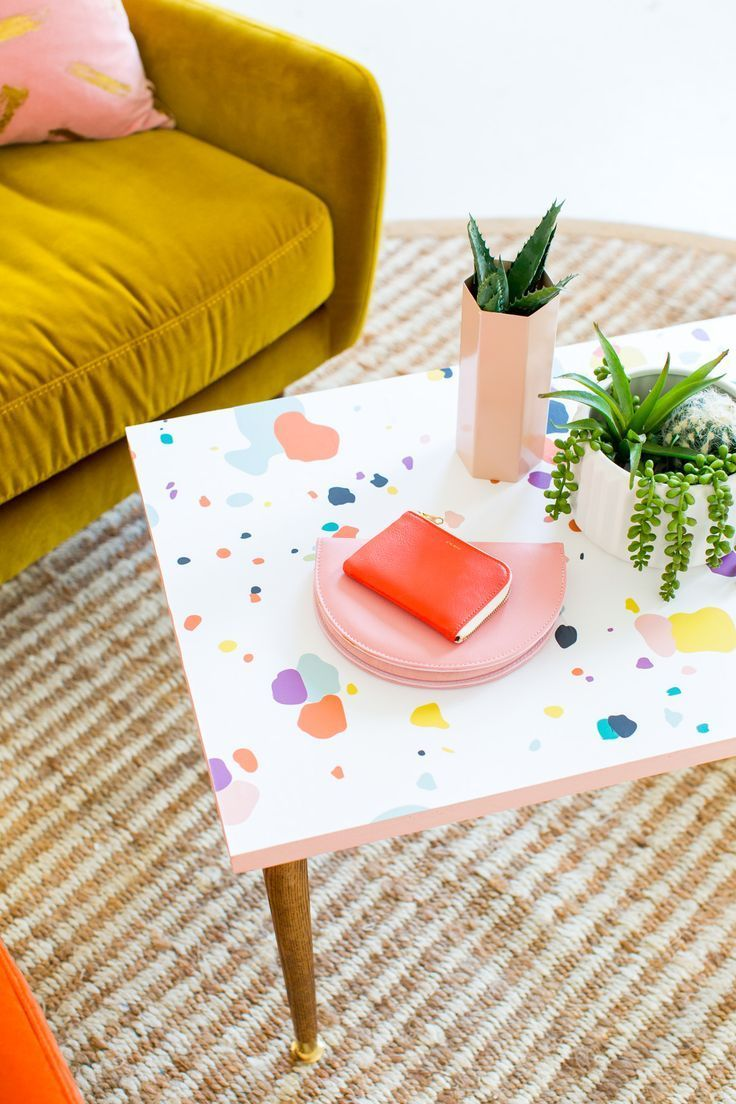 diy faux terrazzo serving boards by top houston lifestyle blogger ashley rose of sugar and cloth. Black Bedroom Furniture Sets. Home Design Ideas