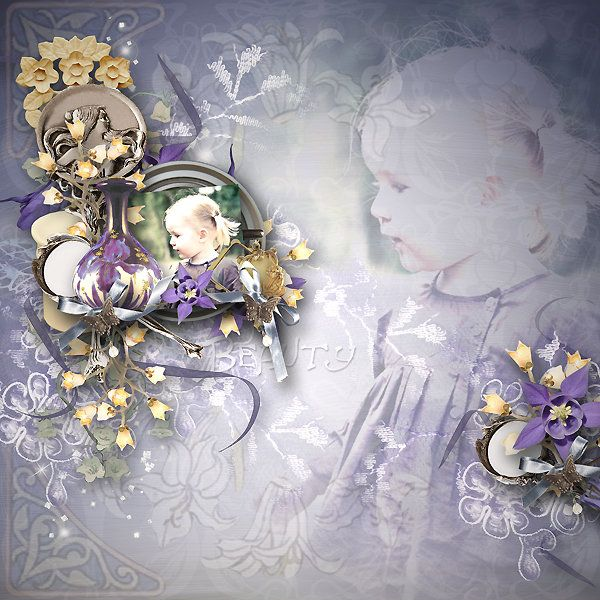 Layout by Delph created using Art Nouveau By Priss Designs