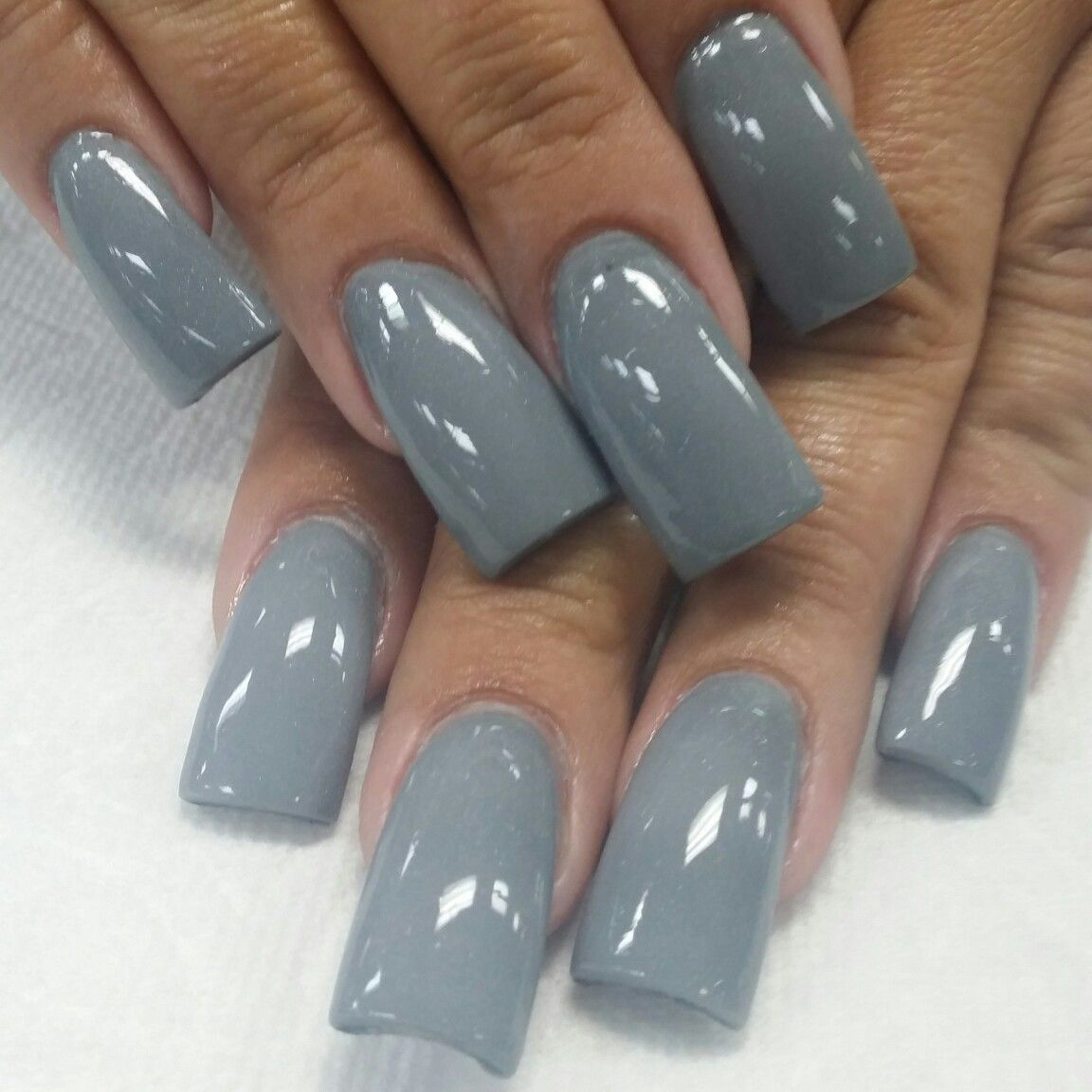 Curved Nails, Flare Acrylic Nails, Long