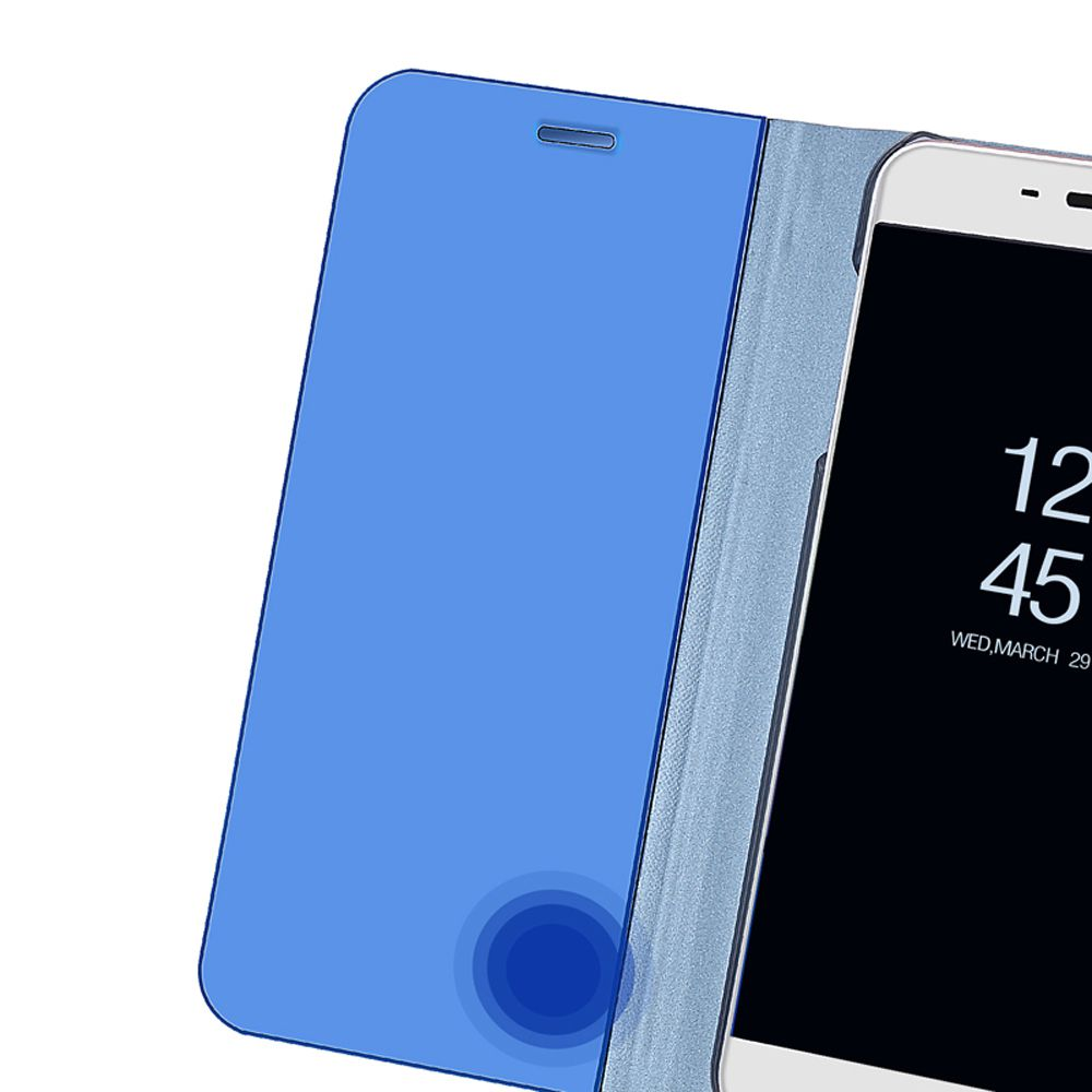 Mirror Flip Case For Xiaomi Redmi 6 Pro 5 Plus Note 4 4x 5a Pro 32gb 64gb Mi A1 5x Pu Leather Clear View Phone Stand Cover Phone Stand Xiaomi Phone