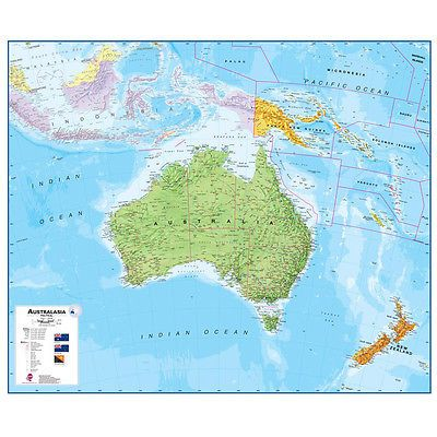 Globes and maps 102952 australasia 17 wall map laminated 1521 globes and maps 102952 australasia 17 wall map laminated 1521 gumiabroncs Gallery