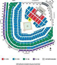 Coldplay Tickets 08 12 17 Minneapolis Lady Gaga Concert Wrigley Field Chicago Lady Gaga Tickets