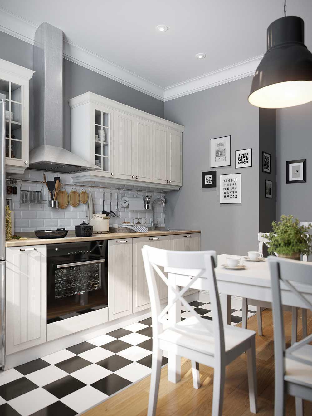 Дизайн кухни 9 кв.м фото современной угловой кухни 9 кв. м ...