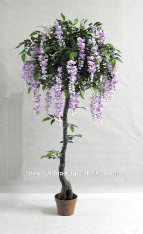 Flower tree 150cm artificial wisteria sinensis good shape buy flower tree 150cm artificial wisteria sinensis good shape mightylinksfo