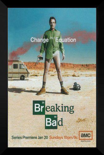 Breaking Bad FRAMED 27x40 TV Promo Poster: Aaron Paul ...