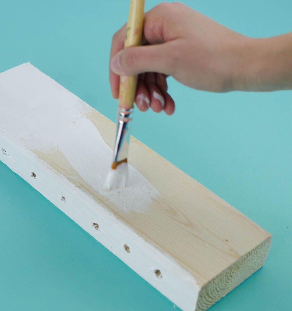 DIY 2x4 Pencil Holder | Pencil holder