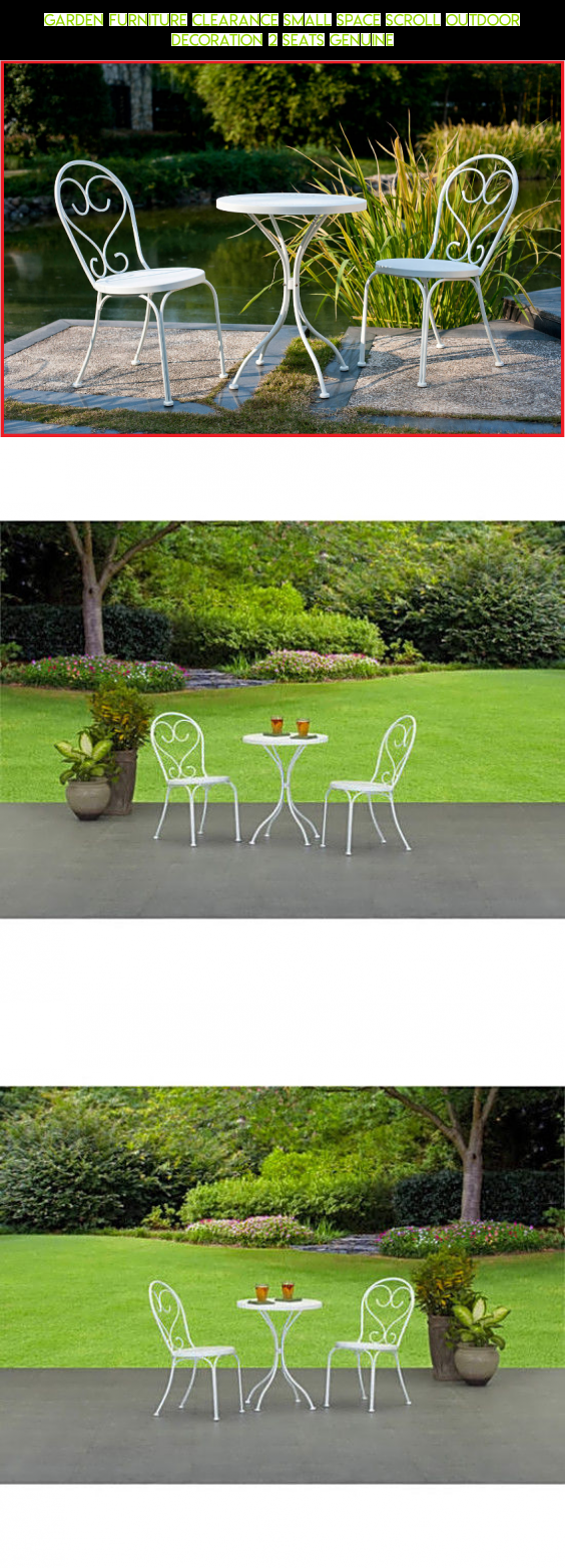 Garden Furniture Clearance Small Space Scroll Outdoor Decoration 2 ...