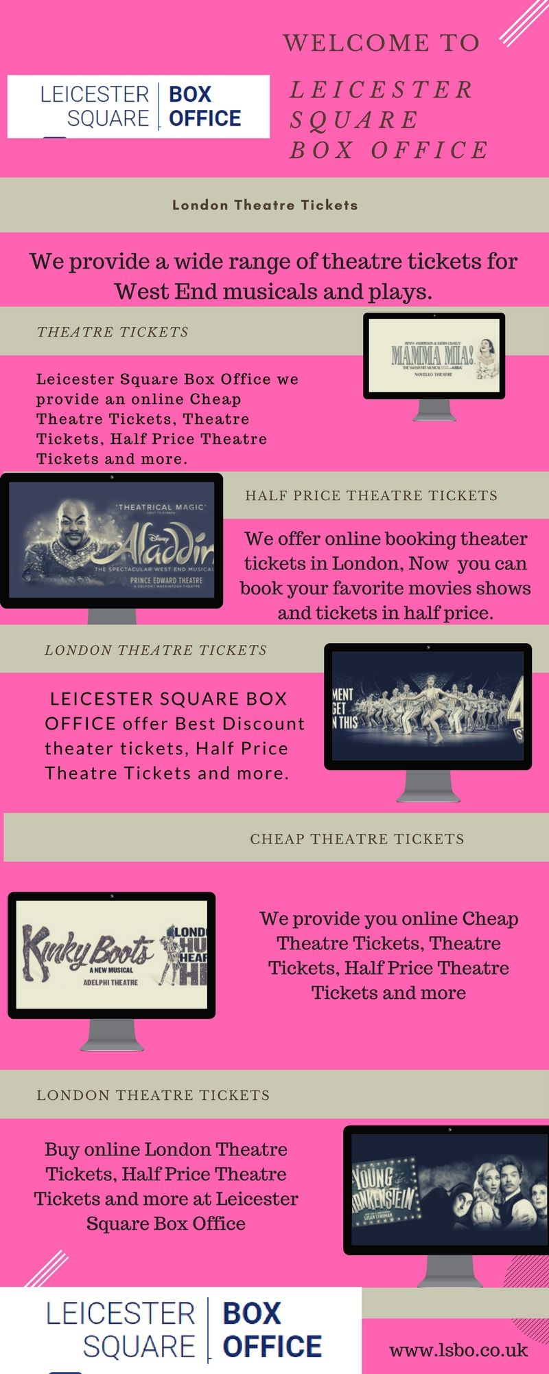 book theater tickets london