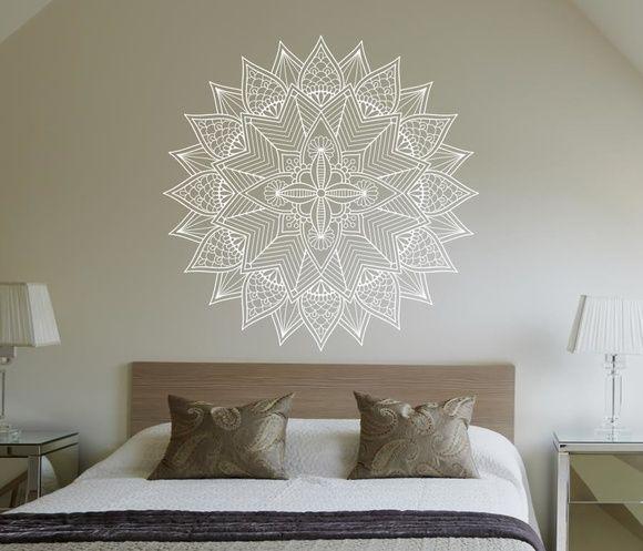 Adesivo Para Janela De Vidro Jateado ~ Adesivo de parede mandala 80cm Adesivos de parede, Adesivo e Paredes