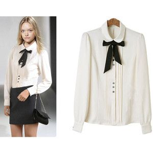 Great with black skirt or cigarette pant | Uniform ideas ...