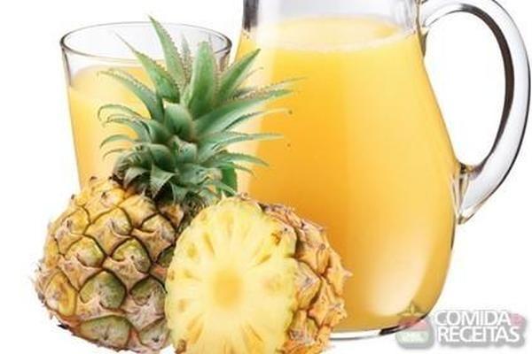 Receita de Suco refrescante de abacaxi e laranja - Comida e Receitas