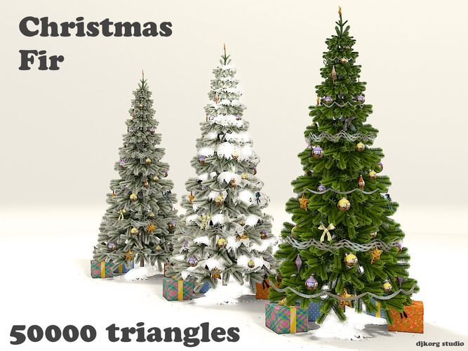 christmas trees collection 3d model http www turbosquid com fullpreview index cfm id 645806