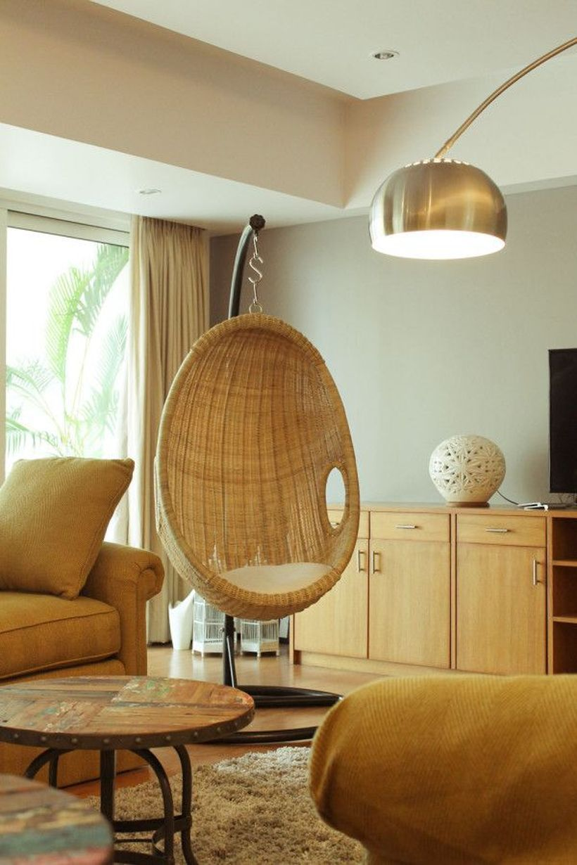 Cool Hanging Swing Chair With Stand For Indoor Decor 10