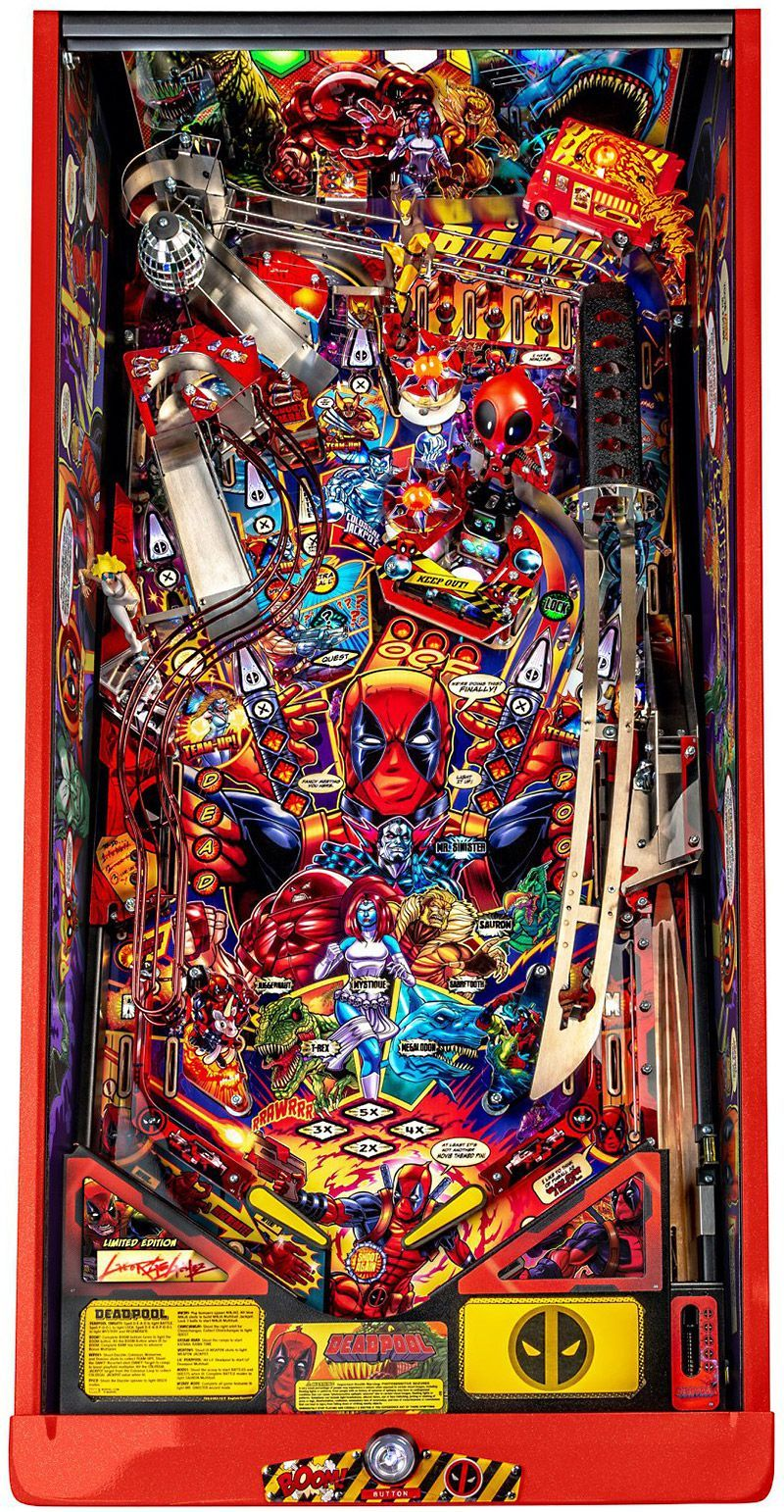DEADPOOL REVEALED to Pinball News First & Free