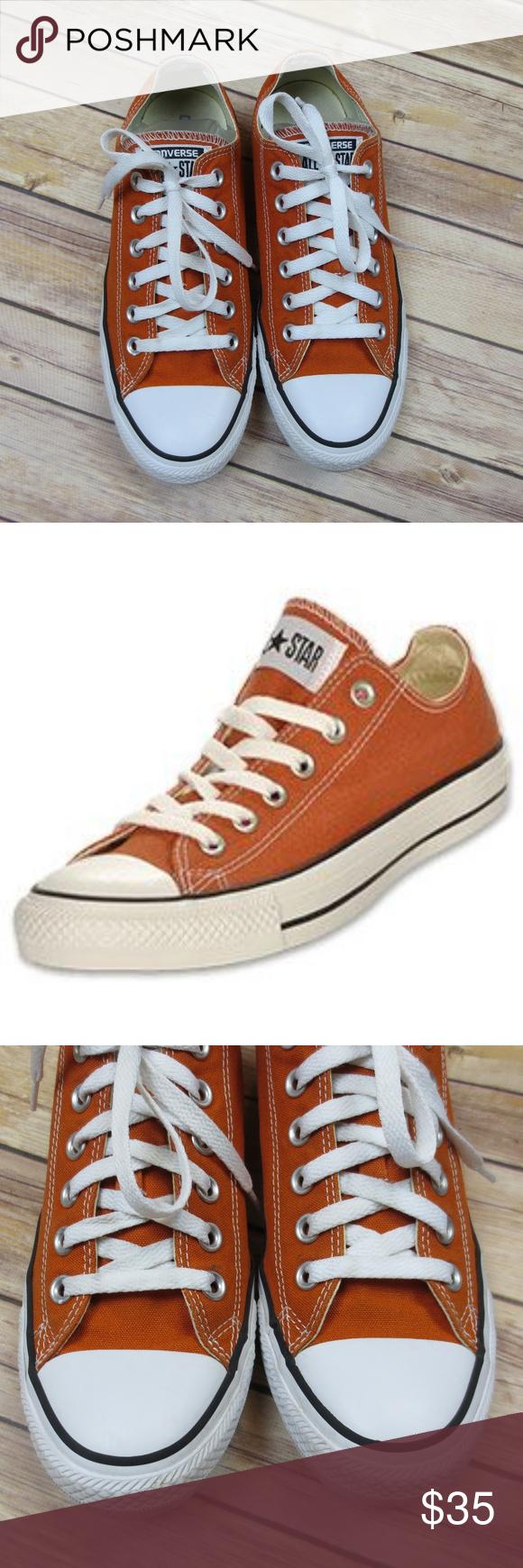 burnt oranje chuck taylors online store