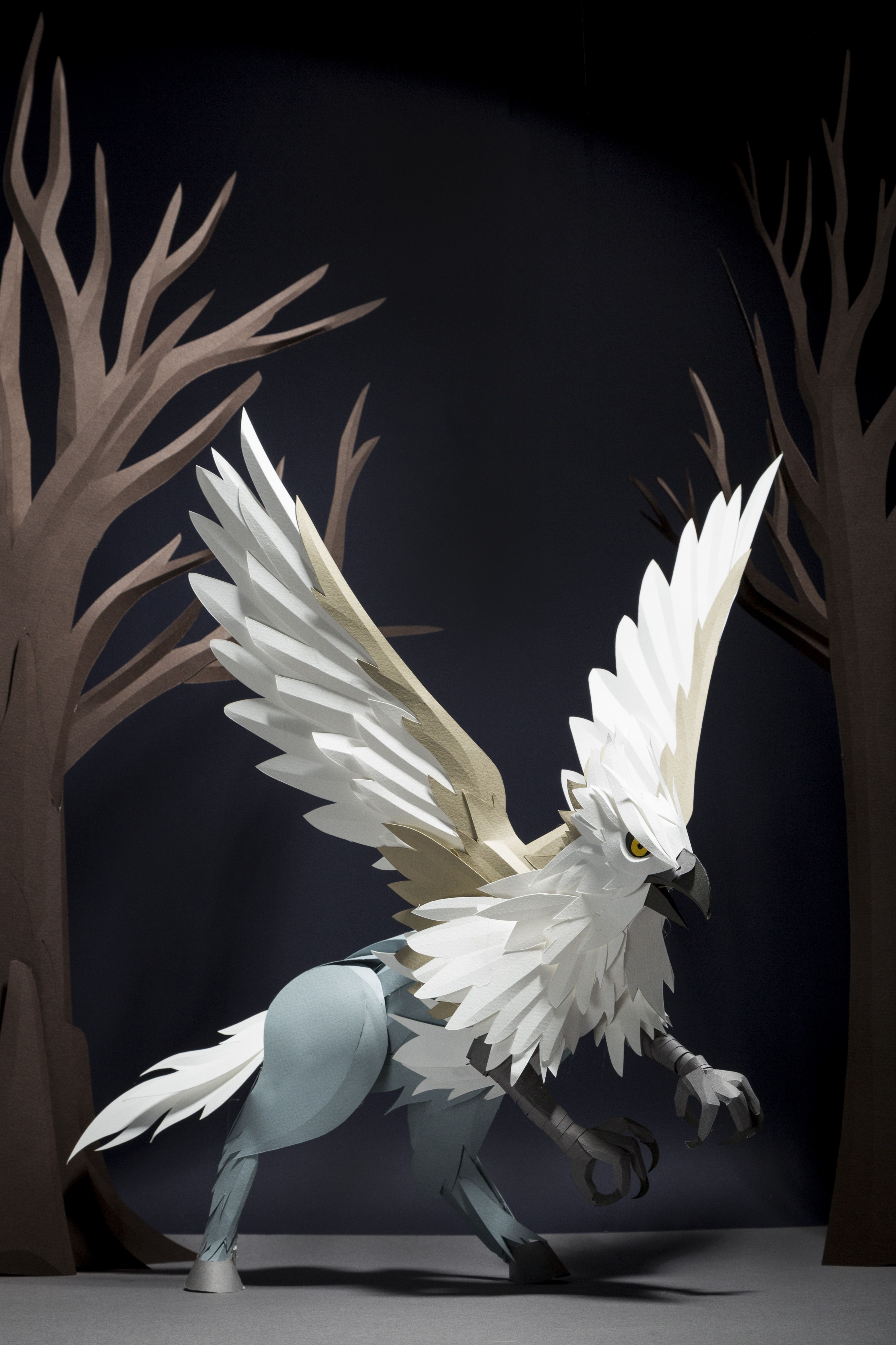 Hippogriff, by artist Andy Singleton Care of Magical