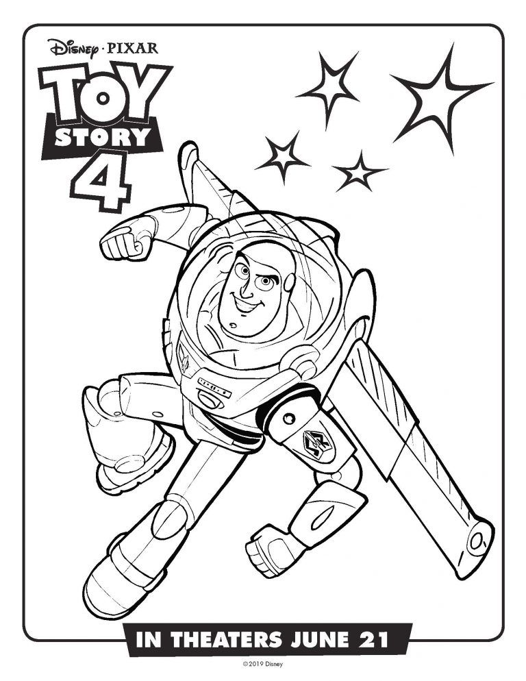 Free Disney Printable Toy Story 4 Recipes Activity Sheets Coloring Pages In 2020 Toy Story Coloring Pages Disney Coloring Pages Toy Story Printables