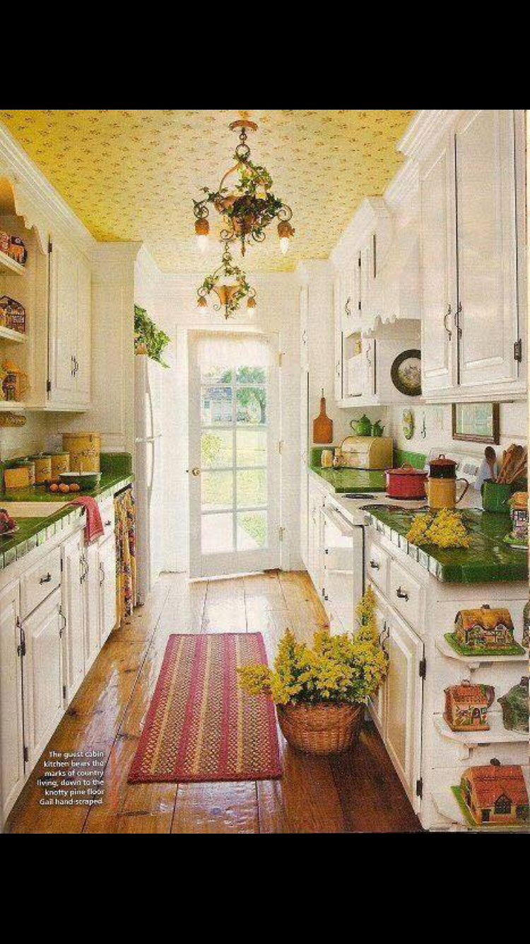 Knotty pine kitchen ceiling my vintage kitchen ideas - Find This Pin And More On Vintage County Kitchen
