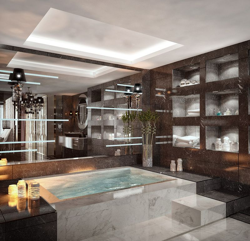20 Indoor Jacuzzi Ideas And Hot Tubs For A Warm Bath Relaxation Home Design Lover Indoor Jacuzzi Jacuzzi Bathroom Jacuzzi Room