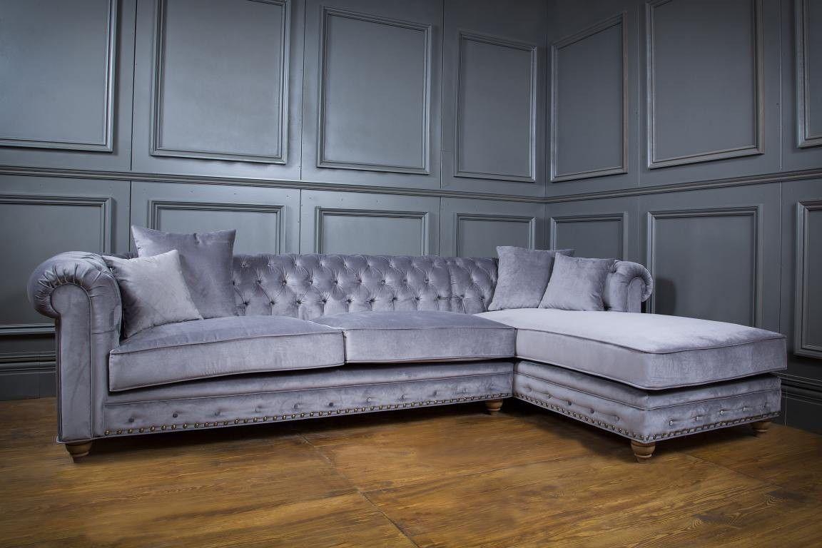 Edel und bequem im Wohnzimmer sitzen - Springfield Sectional Sofa ...