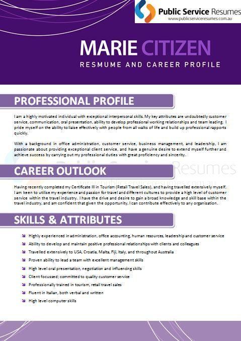 a high quality resume will focus not just on the positions