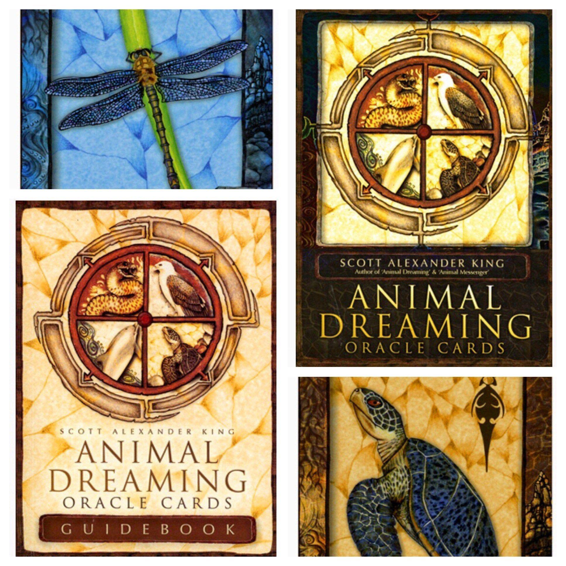 Animal oracle cards deck spirit animal reading spirit