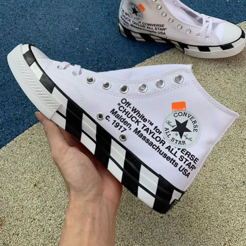 """OFF WHITE X Nike Air Force 1 Low """"Ghosting"""" White Sail Online"""